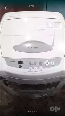 Samsung wobble fuzzy top load fully automatic washing machine
