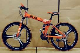 New foldable alloy wheel cycle