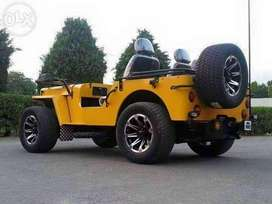 Ford willys jeep 5tyre 5wheel high speed car