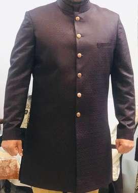 Indowestern Dress wine colour Brand New