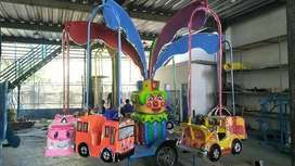 Pabrik Wahana Komedi Putar Gantung safari Odong kereta mini PABRIK