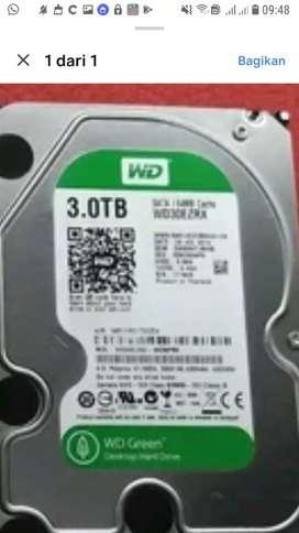 Dijual HARDDISK PC atau Komputer 3 TB. hanya 1,5jt saja
