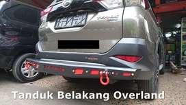 Ready bemper belakang besi / pengaman model overland - terios