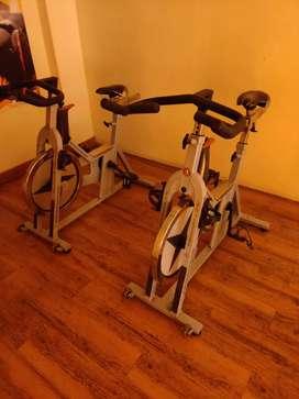 Gym equipment complete set-up