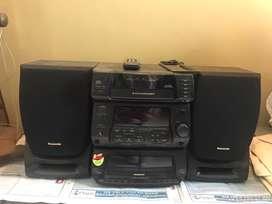 Panasonic music system. Good working condition