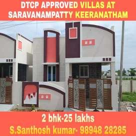 2 bhk house for sale at saravanampatty keeranatham