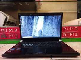 SECOND GARANSI Toshiba R830 Core i7-2620m/ RAM 4GB/ HDD 320GB