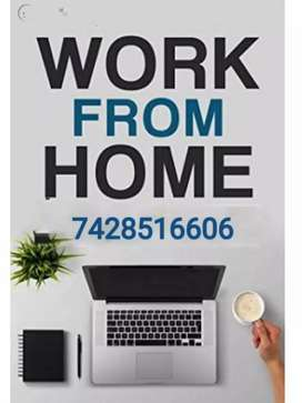 home based data typing work