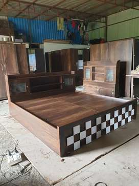 Brand new Bed Wooden furniture direct from factory
