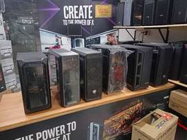 GAMING CASING AVAILABLE IN STOCK COOLER MASTER/THERMALTAKE/XPG/COUGAR