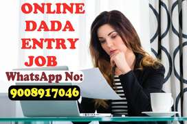 online job data entry work from home