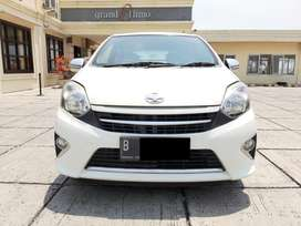 Toyota Agya 1.0 G AT 2015 Puith LOW KM Plat Genap Dijamin Murah