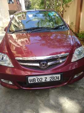 Honda city in full condition 53000km only. Marron color