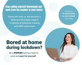 Learn and work feom home