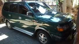 Kijang hijau LGX bensin 1998 atas nama sendiri