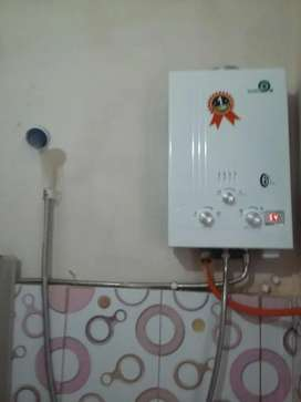 Water Heater Gas - Mandi Air Hangat Indah