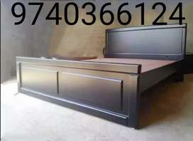Italian designs of double cots with 5 years warranty