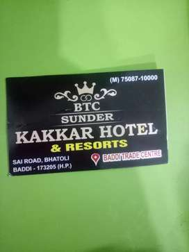 Reception works kakkar hotel