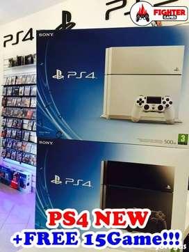 """[NEW] PS4 500GB +BONUS FULLGAME """"bebas request"""""""