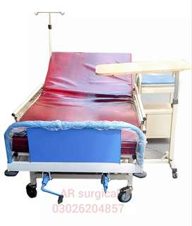 Manual Patients BEDS & Hospital beds & wheel Chair