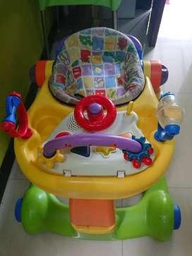 Baby walker 2 in 1 ( push walker)