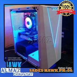 Casing PC Komputer Gaming SADES HAWK PK-06