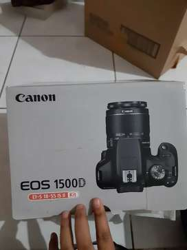 Jual cepat kamera canon EOS 1500D