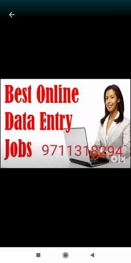 No qualification only internet knowledge is required for job