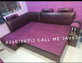L bed sofa
