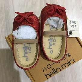 Sepatu bayi Hello Mici