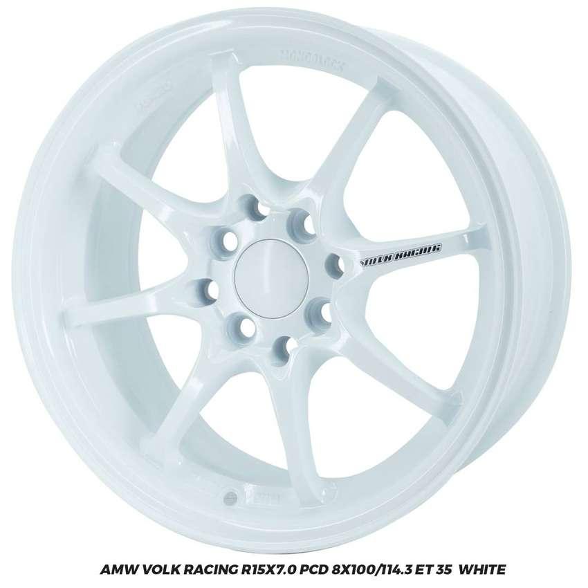 AMW VOLK RACING R15x7.0 PCD 8x100 114,3 ayla corolla jazz yaris