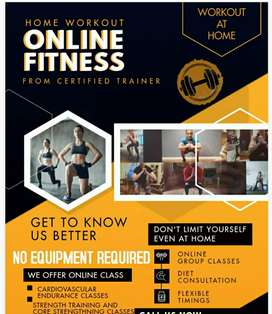 Online Fitness workout