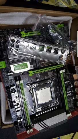 xeon e5 2628L v2 mobo x79 new server render gaming