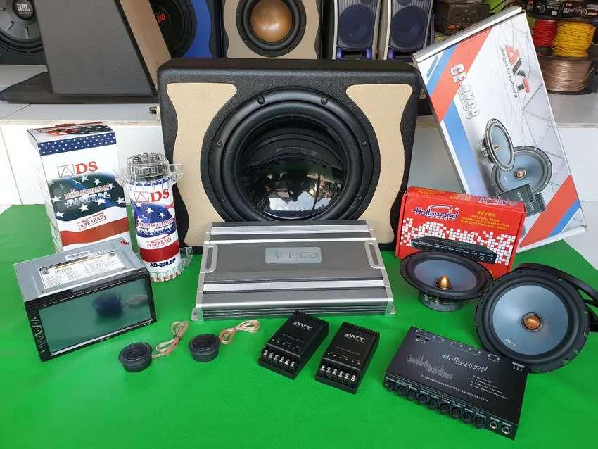 Paket Audio full set , trima beres di ((UDIN AUDIO)) 0