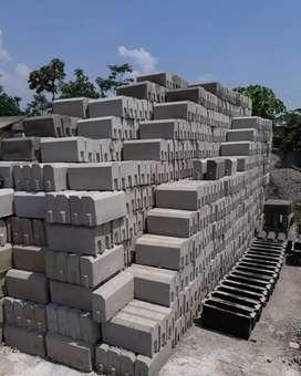 Kanstin~U-Ditch~Paving Block~Buis Beton~Box Culvert~Grass Block Murah