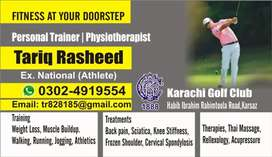 Physiotherapy home visit for DHA&juhar area