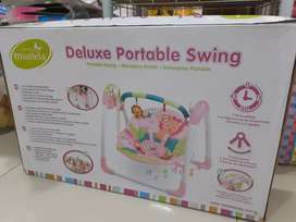 Bouncher portable swing mastela