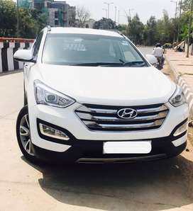 Hyundai Santa Fe 2 WD AT, 2014, Diesel