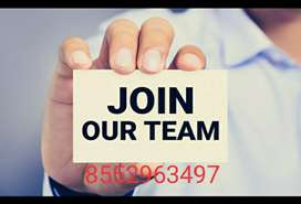 Urgent hiring candidate for part time jobs