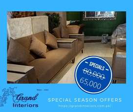 Huge sale in Luxurious royal sofa set by Grand interiors