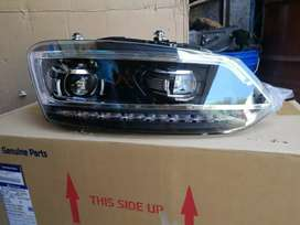 Polo vento led Headlights new design with led