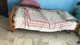 Cot with two bed