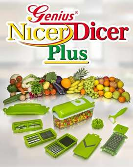 Nicer Dicer Plus Vegetable Salad Fruit Cutter