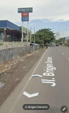 Tanah nempel mall living plaza, dekat lotte mart, pertamina, Mcd