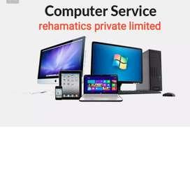कम्प्यूटर सर्विस repair Desktop laptop computer service