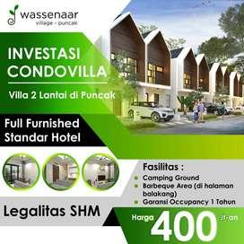 Villa Murah Di Kawasan Cipanas Dekat Wisata Puncak Bogor & Kebun Teh