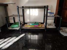 Tv stand glass superb condition