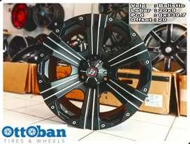 Velg mobil Pajero LC Fortuner murah Balistic R20X9 h6x139.7 ET 20