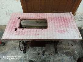 Sewing machine stand.  सिलाई मशीन stand