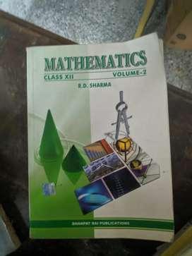 R.d Sharma maths cbse 12 book